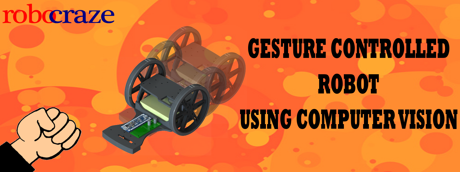 Gesture Controlled Bot